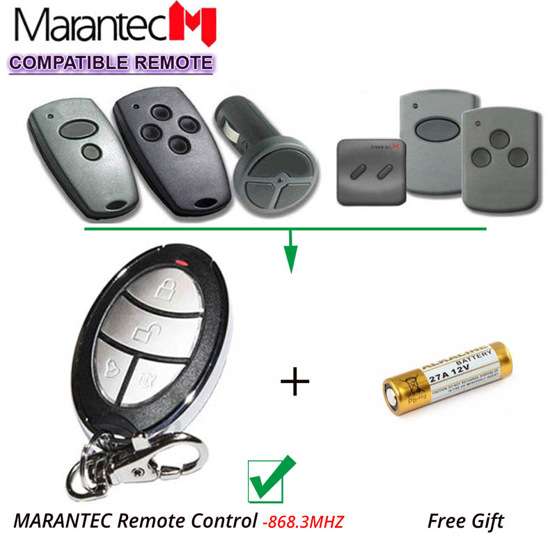 Marantec handsender D302 D304 868MHz garage remote control Clone /Repacement ,Not work with 433MHz цены