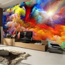 papel de parede High quality Modern Luxury 3d wallpaper 3D wall mural papel de parede photo wall paper Clouds photo wallpaper 3d large plum blossom in vase abstract photo wallpaper natural 3d room wall paper for walls livingroom mural rolls papel de parede