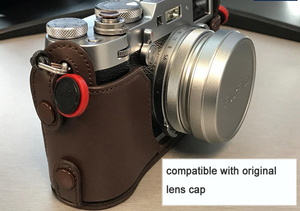 Image 5 - Tam Metal Ultra ince Lens Hood Adaptör Halkası Iplik Tasarımı Fujifilm Kamera için X70 X100T X100S X100