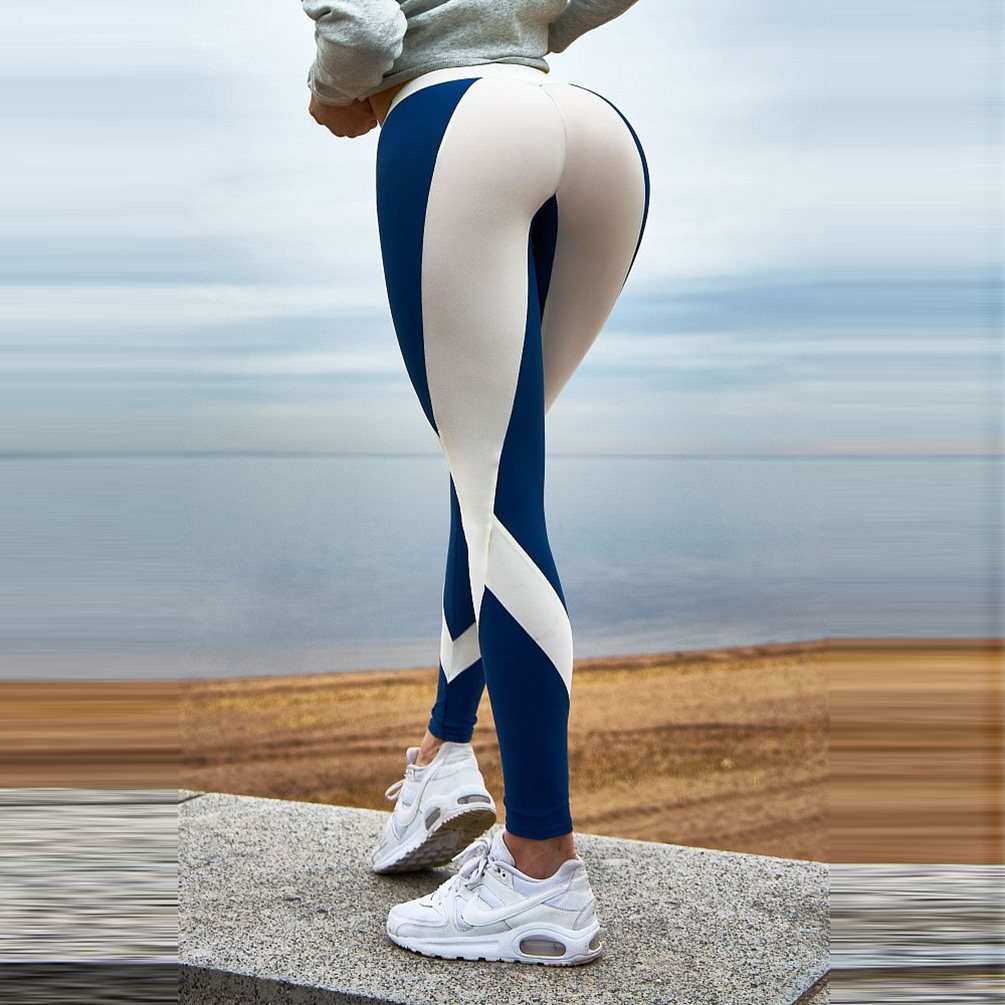 High Waist Fitness Leggings Women Push Up Leggings Elasticity Slim Printed Leggins Woman Pants