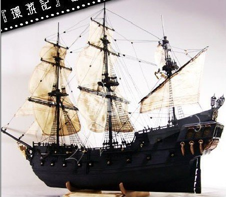 Pirates Of The Caribbean Ship Quot Black Pearl Quot Timber Ship