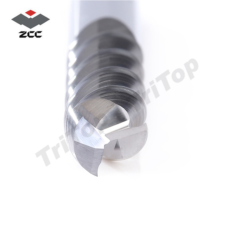 2 PZ / LOTTO ZCC.CT originale AL-3EL-D8.0 in metallo duro integrale - Macchine utensili e accessori - Fotografia 3