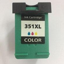 Vilaxh For hp 351 351xl Ink Cartridge Compatible for Photosmart C4200 C4480 C4580 C4380 C4400 C4580 C5280 C5200 C5240 C5250