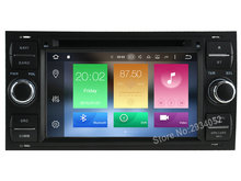 FOR FORD Focus 2004-2008 Android 8.0 Car DVD player Octa-Core(8Core) 4G RAM 1080P 32GB ROM WIFI gps head device unit stereo