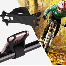 Bike Phone Holder Universal Silicon Smartphone Mount Cell Fits for iPhone and other Every
