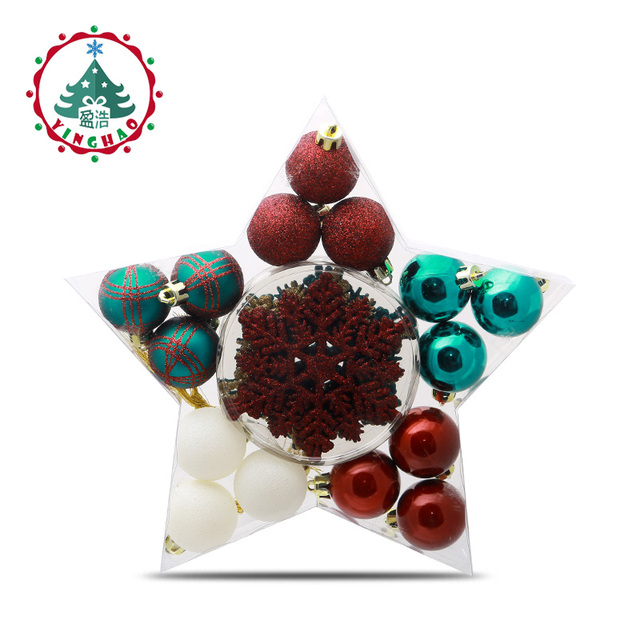 Black Friday Christmas Decorations.Us 14 32 44 Off Black Friday Gifts Christmas Tree Ball Baubles Xmas Party Snowflake Wedding Hanging Ornament Christmas Decor Supplies For Home In