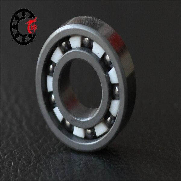 Free shipping 7014 7014 CE SI3N4 full ceramic angular contact ball bearing 70x110x20mm