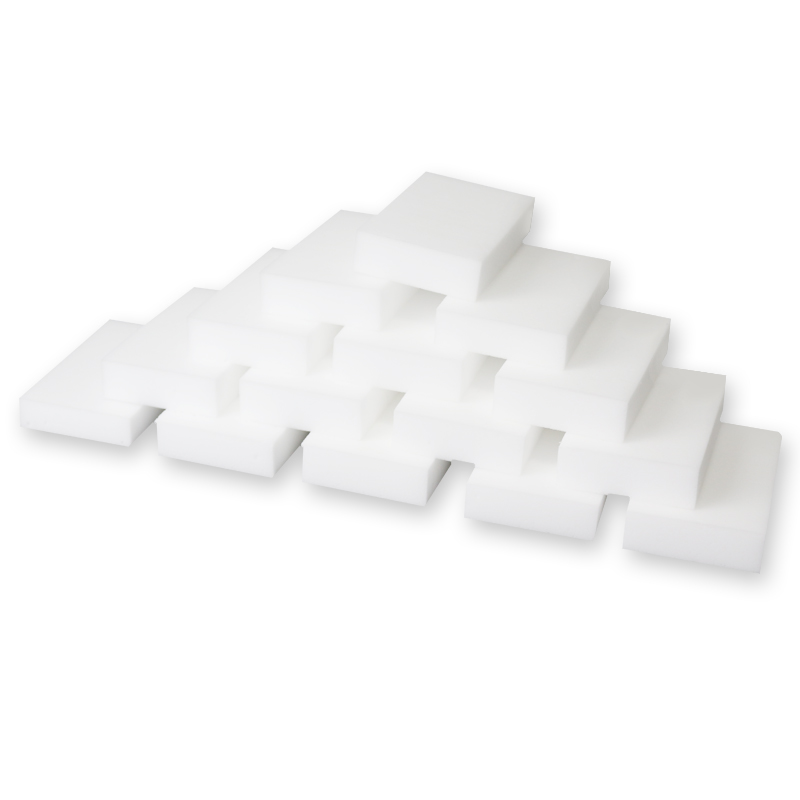 100pcs BAISPO White Melamine Sponge Magic Nano Sponge Eraser Kitchen Cleaner Bathroom Cleaning Tools Dish Free Shipping 10x6x2cm