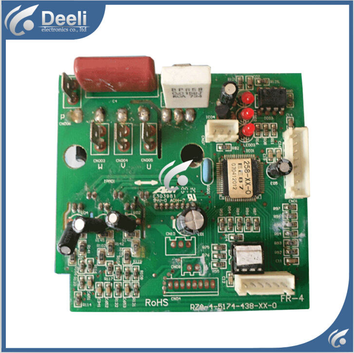 95% new good working for air conditioning Computer board RZA-4-5174-438-XX-0 E303981 power module good working цена и фото