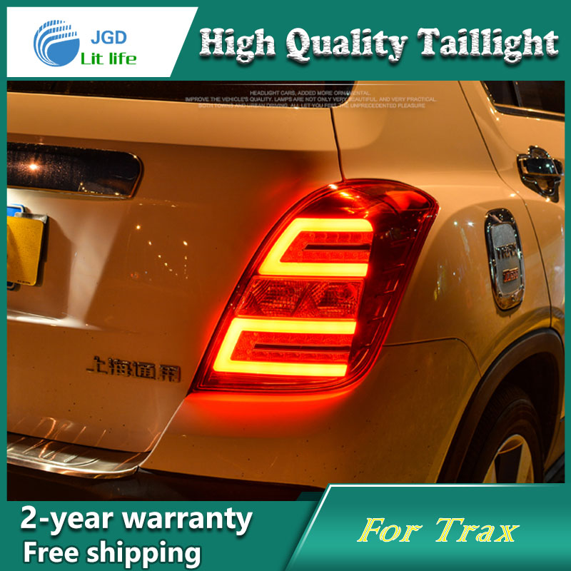 Car Styling Tail Lamp for Chevrolet Trax Tail Lights LED Tail Light Rear Lamp LED DRL+Brake+Park+Signal Stop Lamp car styling tail lamp for toyota corolla led tail light 2014 2016 new altis led rear lamp led drl brake park signal stop lamp