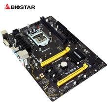 Biostar Новый 5pci-e материнской tb150 Pro для Intel I3 I5 I7 7700 К Процессор ATX lga1151 DDR4 компьютер Роскошные 10 гигабитный сетевой карты