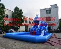 (China Guangzhou) inflatable slides,Castle slides Ocean pool slide BYSW 14372