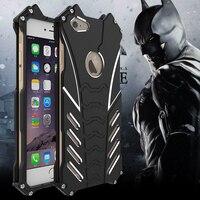 For Iphone 5 C SE 6S 7 Plus Case Armor Heavy Dust Metal Aluminum CNC BATMAN