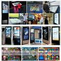 "4 points 50"" Infrared Touch Screen frame, 16:9 format for multi touch table, advertising,"