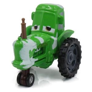 Image 5 - 1:55 Disney Pixar arabalar 3 2 Frank ve traktör yıldırım McQueen malzeme Jackson fırtına Ramirez Diecast oyuncak araba çocuk noel hediyesi