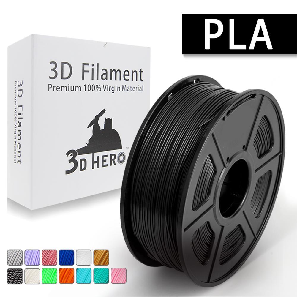PLA Filament 1 75mm 1KG 3D Printing Materials Imported PLA Plastic Granule Pollution free Material 3D