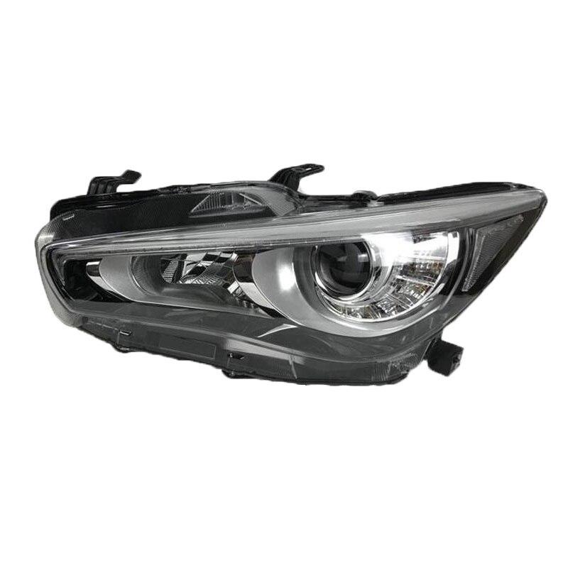 Снаружи лампы дневного Assessoires параметры люксов освещения авто фонари светодиодные сборки Стайлинг автомобиля освещения фары для Infiniti Q50