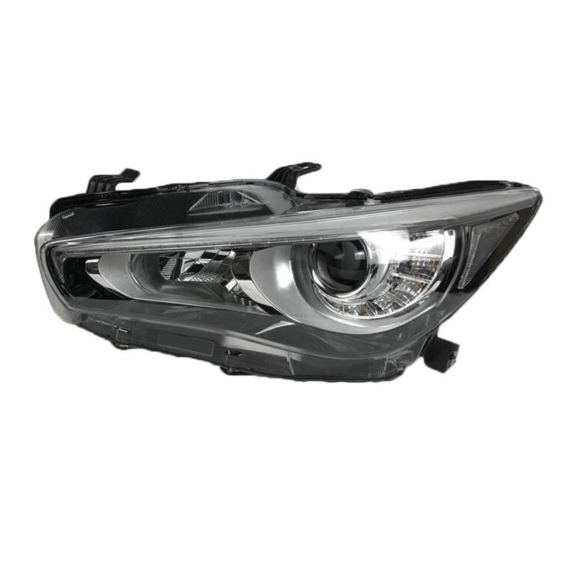 Extérieur Lampe Feux de jour Assessoires Luces Para Auto Lumières Assemblée Led Styling De Voiture Phares D'éclairage Pour Infiniti Q50
