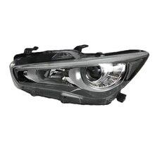 Снаружи лампы дневного Assessoires параметры люксов освещения авто огни сборки светодио дный Стайлинг автомобиля освещения фары для Infiniti Q50