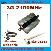 Hot LCD Family WCDMA UMTS 3G 2100 MHz 2100MHz Mobile Phone Signal Booster Repeater Cell Phone