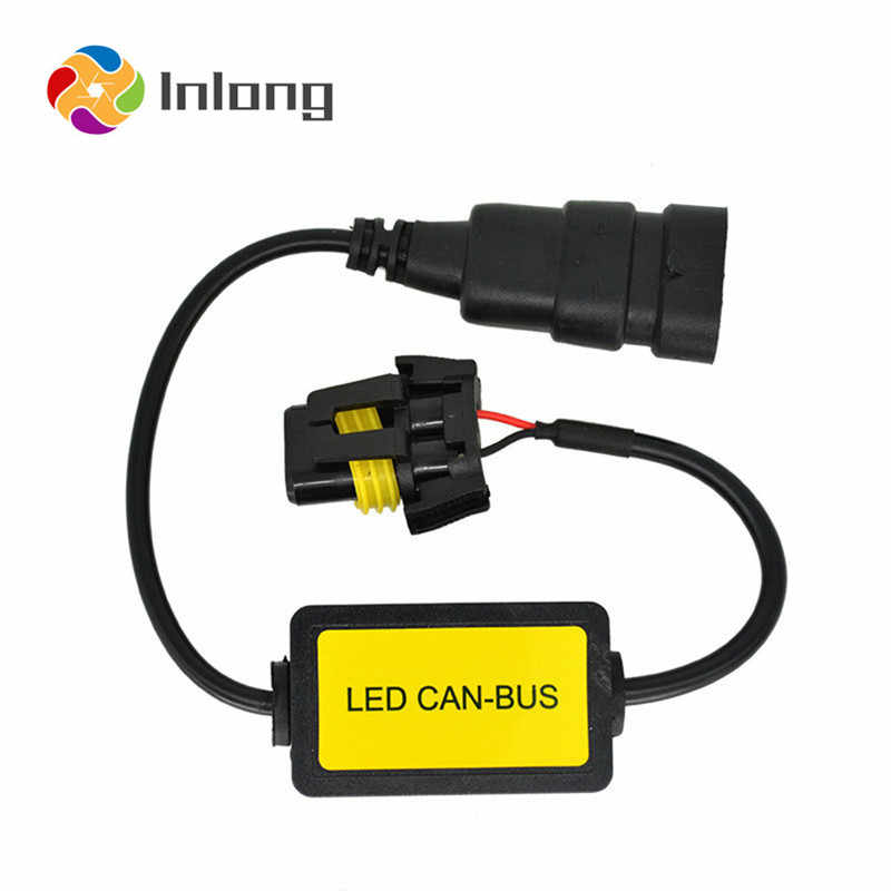 Inlong Canbus Decorder For H7 LED Headlight Error Free For Car SUV Led Car Bulb Fog Lamps Can-Bus H1 H4 H11 H8 9005 9006 D1S D2S