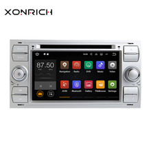 Xonrich автомобильный мультимедийный плеер 2Din автомобиля радио gps Android 8,1 для Ford Focus 2 Mondeo 4 C-Max S-Max Ford Fiesta Kuga FusionGalaxy