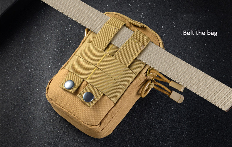 Multifunctional Camping Waist Pack Climbing Emergency Molle Survival Kits Outdoor Tactical Bag Wallet Pouch Outdoor Sport Pack (18)