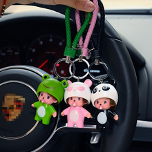 Cute Lucky Cat,Holle Kitty,Rabbit,Bear,Mickey Minnie Kiki Dolls Key Chains Monchichi Keychain Car Key Rings Key Chains Llaveros