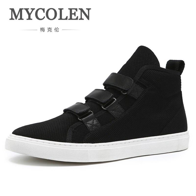 MYCOLEN Brand Men Boots 2018 New Fashion Men Ankle Boots Winter Autumn Casual Man Shoes Chaussure De Securite Pour Homme цена