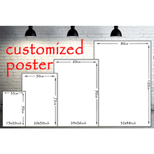 Custom Silk Poster Print 13x20 32x48 inches Anime Movie Landscape Poster customized for Your Home Wall Decor