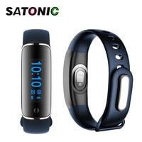 SATONIC Fitness Tracker Bluetooth Bracelet Smartband Watches blood pressure Heart Rate Monitor Activity tracker V8 M8