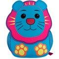4 colores los niños mochilas de los niños, bolsas escuela kindergarten, león bolsas, para niños y niñas bolsas de hombro, preescolar mochila