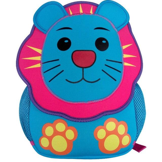 4 colors  kids children's backpacks, kindergarten school bags, lion bags ,for boys and girls shoulder  bags ,preschool backpack