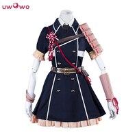 Midare Toushirou Cosplay Touken Ranbu Online Polyester Dress Costume With Hat