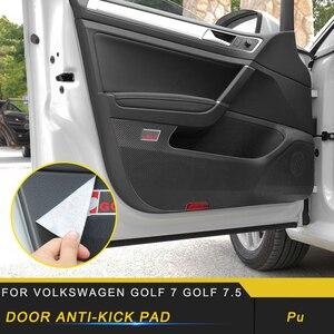 Couvercle de protection de porte de voiture | Pour Volkswagen Golf 7 Golf 7.5, protection de voiture, tampon Anti-coups, cadre de garniture, accessoires intérieurs