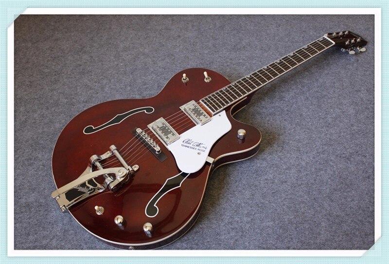 где купить China OEM Grest. G6119-1962FT Chet Atkins Tennessee Rose Electric Jazz Guitars Chrome Hardwares As Picture по лучшей цене