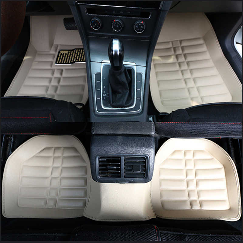 Universal car floor mats for toyota rav4 corolla aygo camry mark prado land cruiser prius highlander Fortuner car mats