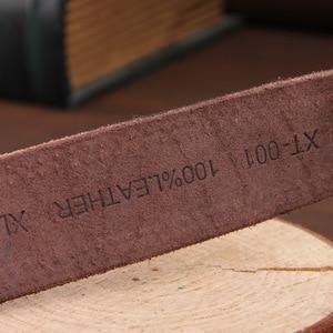 Image 5 - [DWST] 2019 メンズ高級ベルト革メンズベルト cinturones hombre ピンバックル ceinture 男性ビジネスデザイナーベルト男性品質