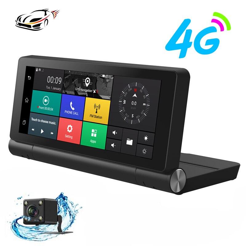 Maustor 4G Car DVR font b Camera b font ADAS GPS Navigator Android 5 0 WiFi