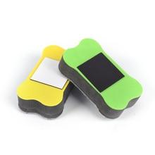 Прямоугольный Магнитный спонж для доски сухой очиститель маркер для доски аксессуары для офиса школы случайный цвет размер: 70*40*20 мм