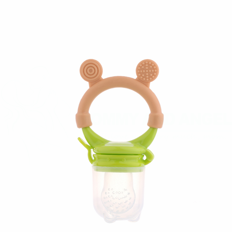 Baby Pacifiers Silcone Feeding Bottles Fresh Food Feeder Feeding Nipple Dummy Fruits (Size:S-M-L,2 Colour,PA-017) FREE SHIPPING