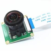 Raspberry Pi Camera Module OV5647 5MP 175 Degree Wide Angle Fisheye Lens Raspberry Pi 3/2 Model B Camera Module цена 2017
