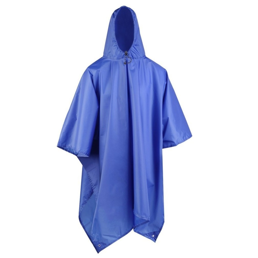 Women/Men Rain Coat Adult Raincoat Thickened Waterproof Rain Coat Outdoors Travel Camping Fishing Rainwear Suit Rain Cape Cover