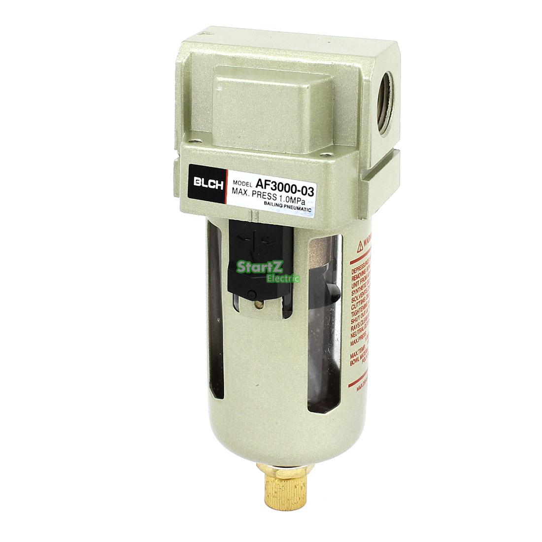 Air Filter AF3000-03D G3/8,Air Source Treatment Unit SMC type Automatic Drain type pneumatic air filter regulator aw3000 03d 3 8 smc type air treatment unit automatic drain type