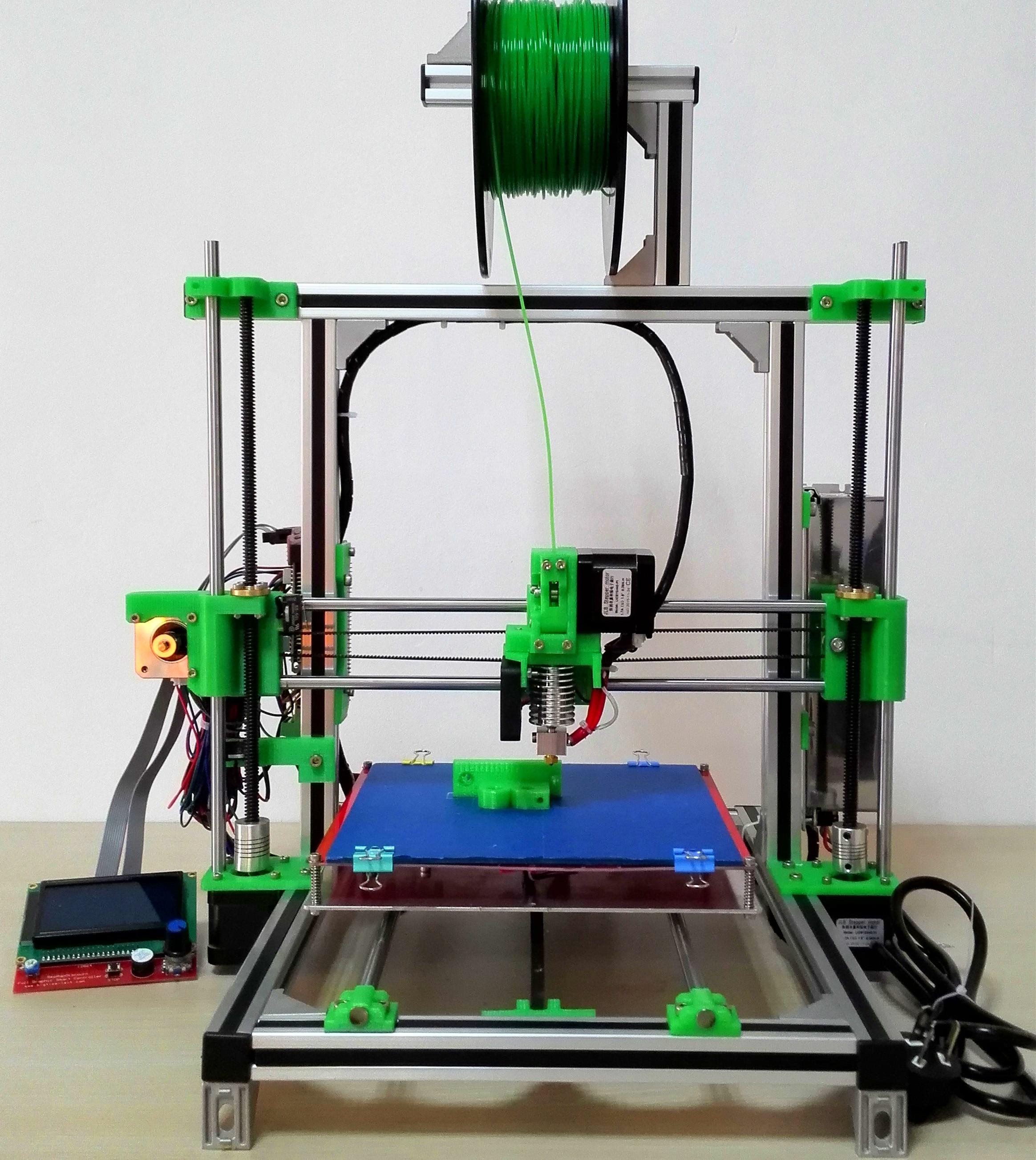 3d printer kit household high accuracy prusa i3 aluminum profile diy kit 3d printer