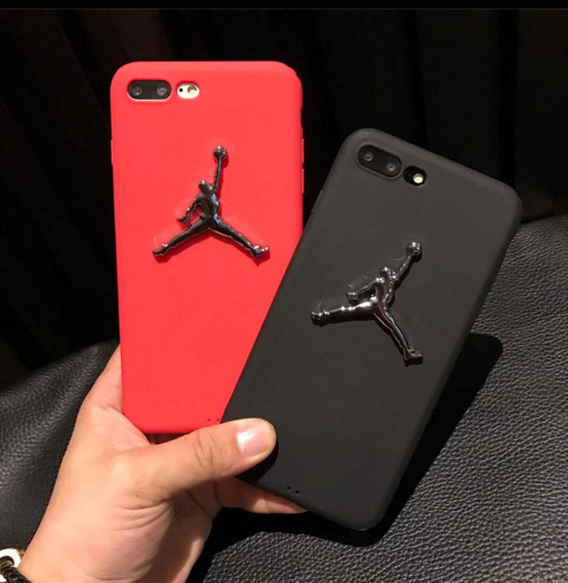 3D Air Jordan TPU Rubber Case For iPhone 7 7Plus 6 6s 6Plus 3D AJ jumpman23 Back Cover Phone Cases for iPhone 7/7Plus 3d case