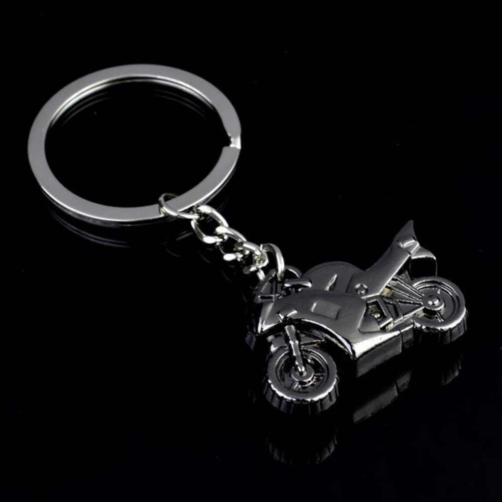 Osobowość twórcza 3D ciężkich model motocykla brelok metalowy reklamy samochodów klucz kółko łańcucha wisiorek akcesoria