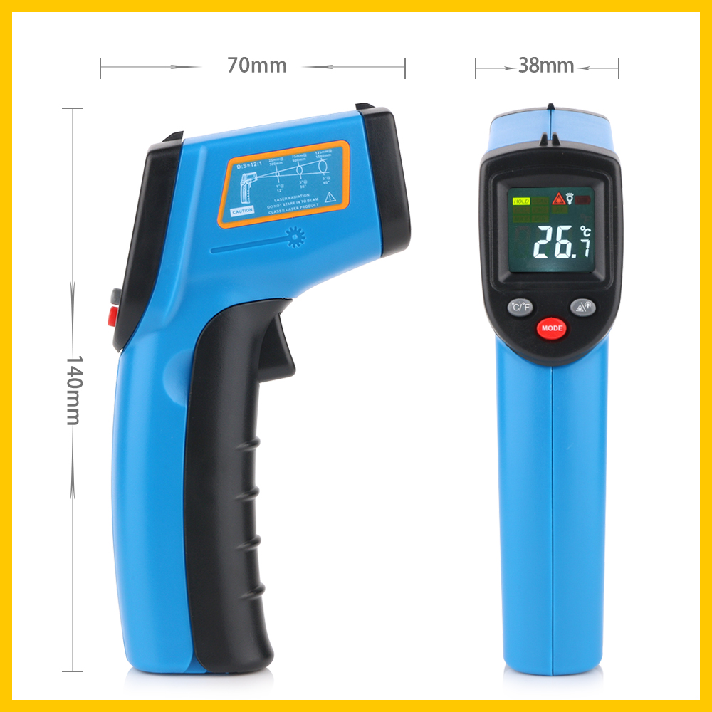 Digital Thermal Imaging Camera With Comfortable Handheld And Color Display 3