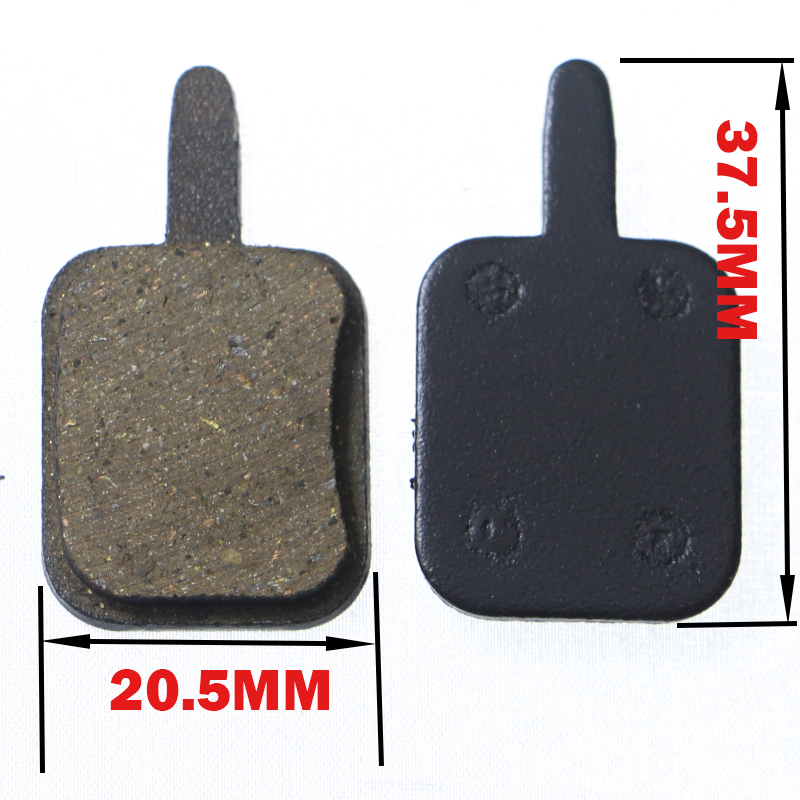 Купить с кэшбэком 2 pairs (4pcs) Bike MTB Disc Bicycle Brake Pads for ARTEK / ASSES Style Disc Bicycle Parts