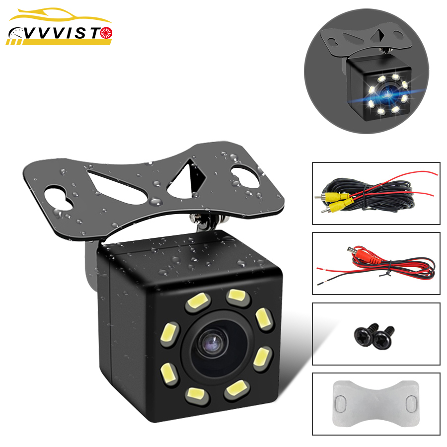 Car Rear View Camera HD Wide Angle Night Vision Waterproof 170 Degree Mini Car Camera Parking Reverse Car Rearview Mirror Camera wired hd ccd ip68 waterproof 170 wide angle ir night vision car rearview camera for vw new bora